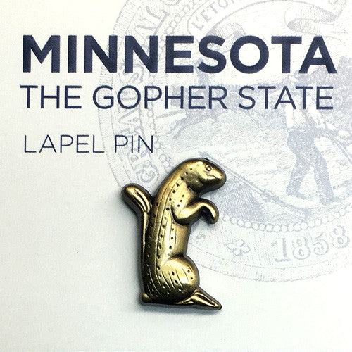 Gopher Lapel Pin