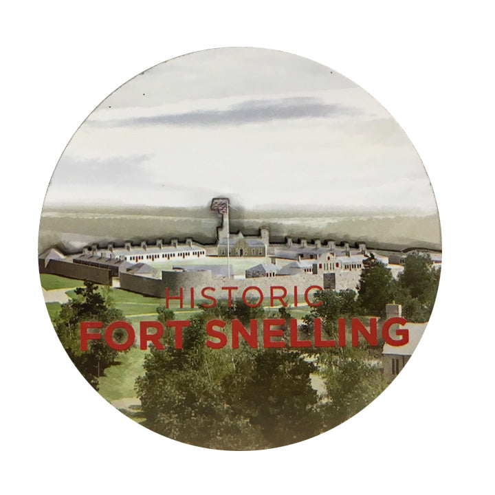 Historic Fort Snelling 3D Magnet