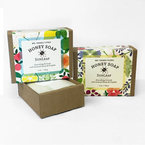 SunLeaf Naturals Honey Soap