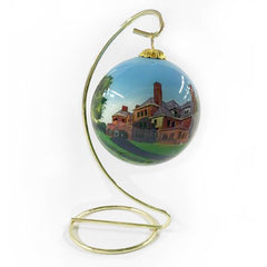 James J. Hill House Glass Ornament