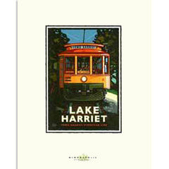 Lake Harriet Trolley Print