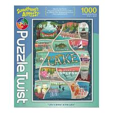 Puzzle Twist - Life Is Better at the Lake