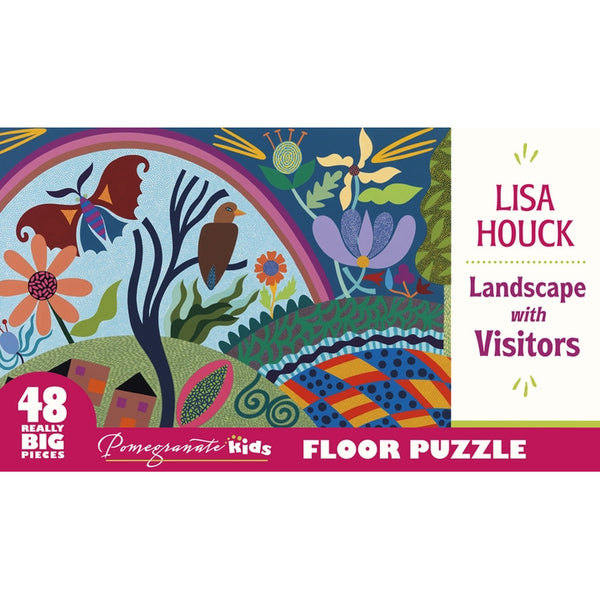 Landscape With Visitors 48 Piece Floor Puzzle