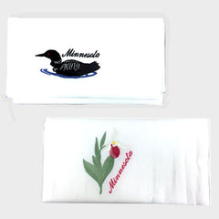 Minnesota Loon or Ladyslipper Dishtowel