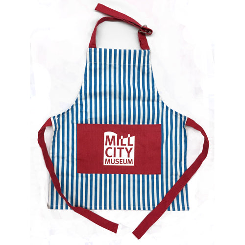Mill City Whimsy Stripe Apron