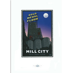 Mill City Gold Medal Flour Print