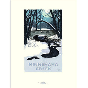 Minnehaha Creek Print