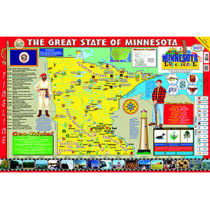 Minnesota Poster Map