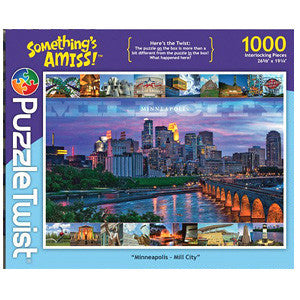 "Puzzle Twist - Minneapolis ""Mill City"""