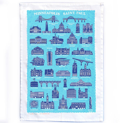 Minneapolis & St. Paul Dishtowel
