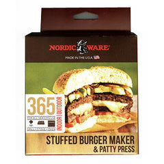 Nordic Ware Stuffed Burger Maker & Patty Press