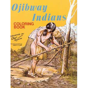 Ojibway Indians Coloring Book