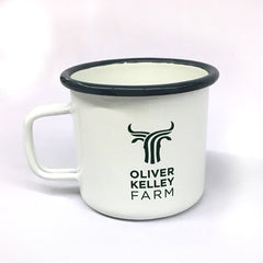 Oliver Kelley Farm Logo Tin Mug