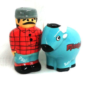Paul and Babe Salt  and Pepper Shaker Set