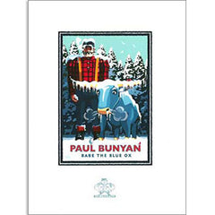 Paul Bunyan Winter Print