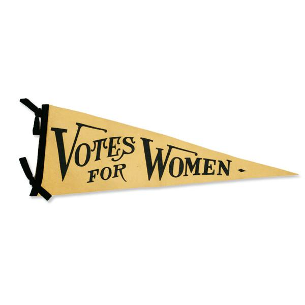 Votes for Women Pennant