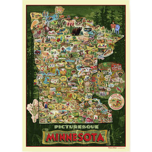 Picturesque Minnesota Poster/Wrap