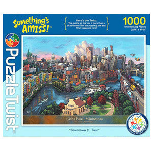 Puzzle Twist: Downtown Saint Paul