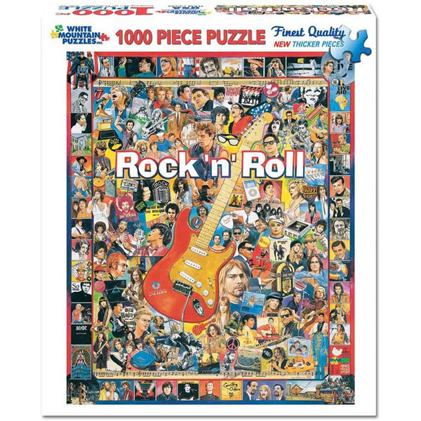 Rock 'n Roll 1000 PC Puzzle