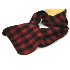 Buffalo Plaid Fleece Scarf