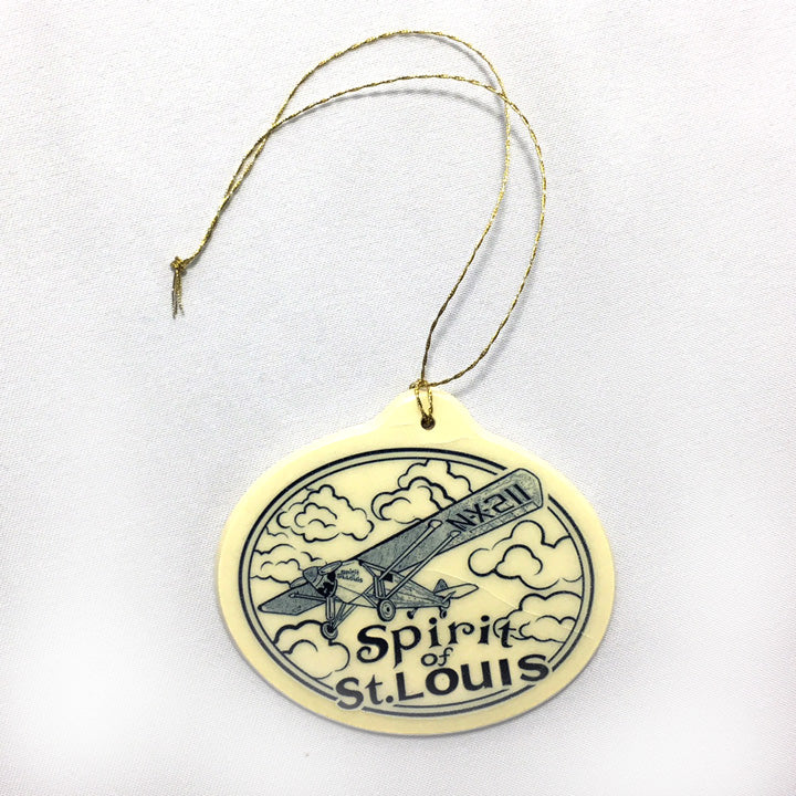 Spirit of St. Louis Ceramic Ornament