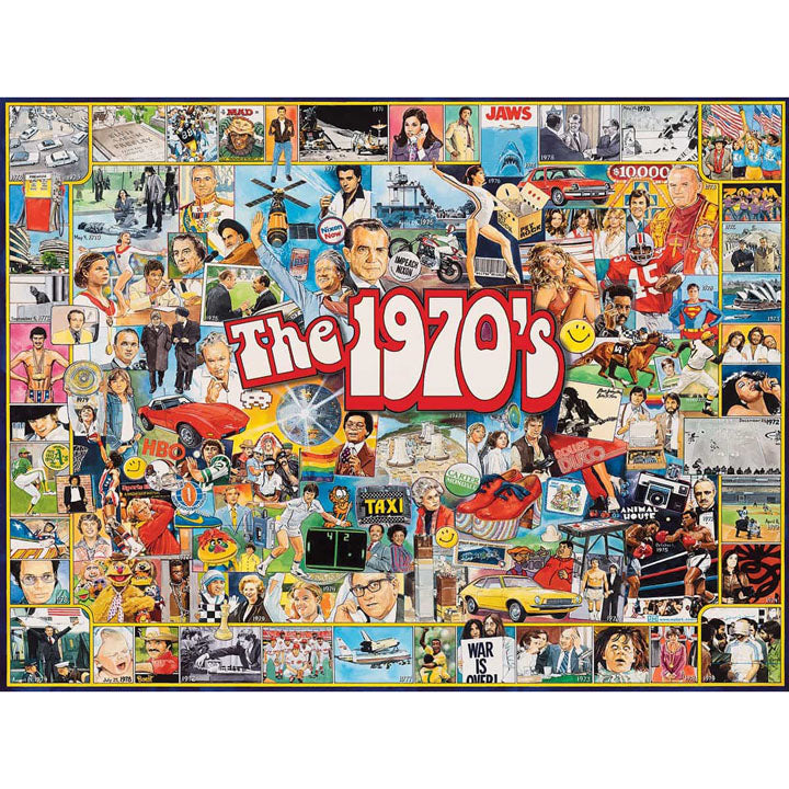 The Seventies 1000 Piece Puzzle