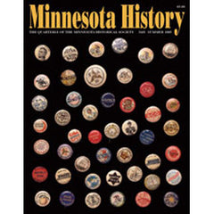 Minnesota History Quarterly Summer 1995 (54:6)