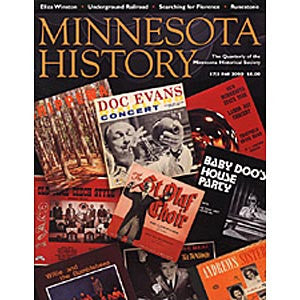 Minnesota History Quarterly Fall 2000 (57:3)