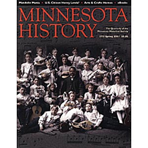 Minnesota History Quarterly Spring 2001 (57:5)