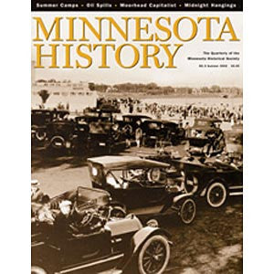Minnesota History Quarterly Summer 2002 (58:2)