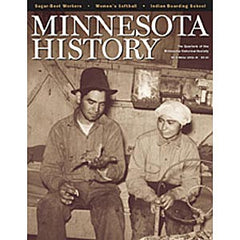 Minnesota History Quarterly Winter 2002-2003 (58:4)