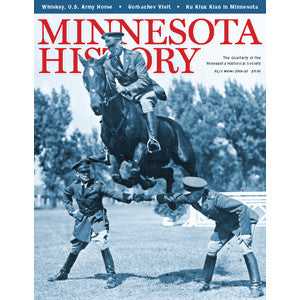 Minnesota History Quarterly Winter 2009-10 (61:8)