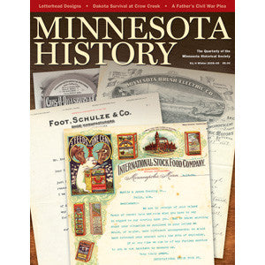 Minnesota History Magazine Winter 2008-09 (61:4)