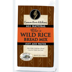 Cannon River Ole's Wild Rice Bread Mix
