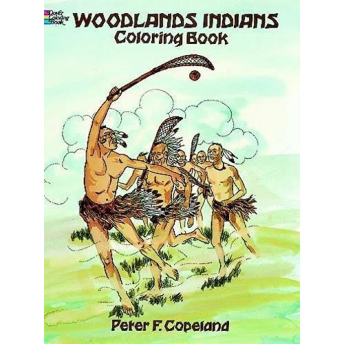 Woodlands Indians Coloring Book