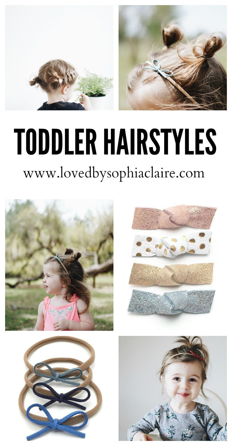 5 Toddler Hairstyles Loved By Sophia Claire