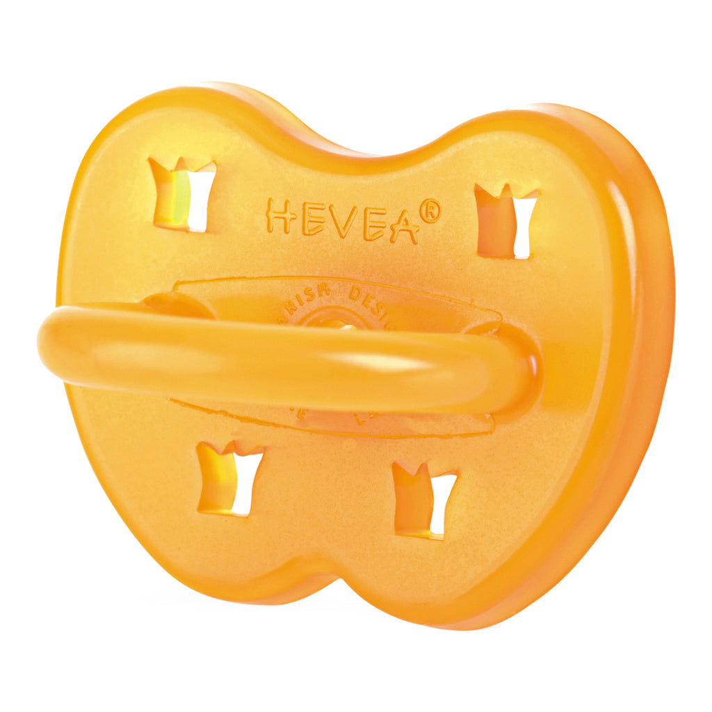 Hevea Pacifier, Round - Crown