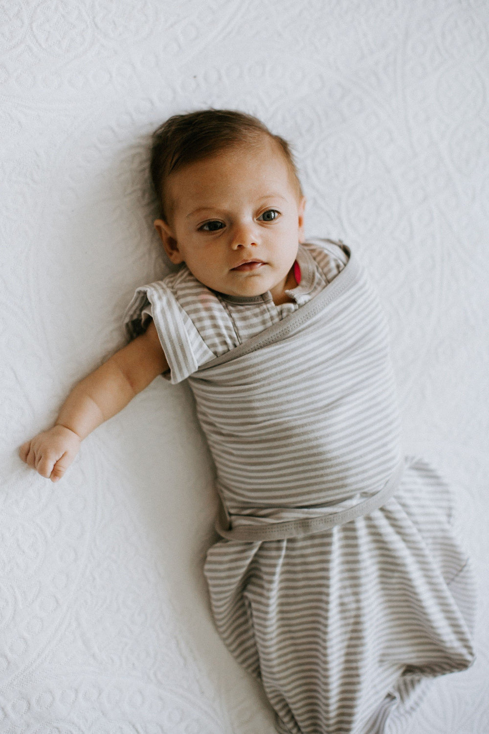 Transitional SwaddleOut | Gray Stripe