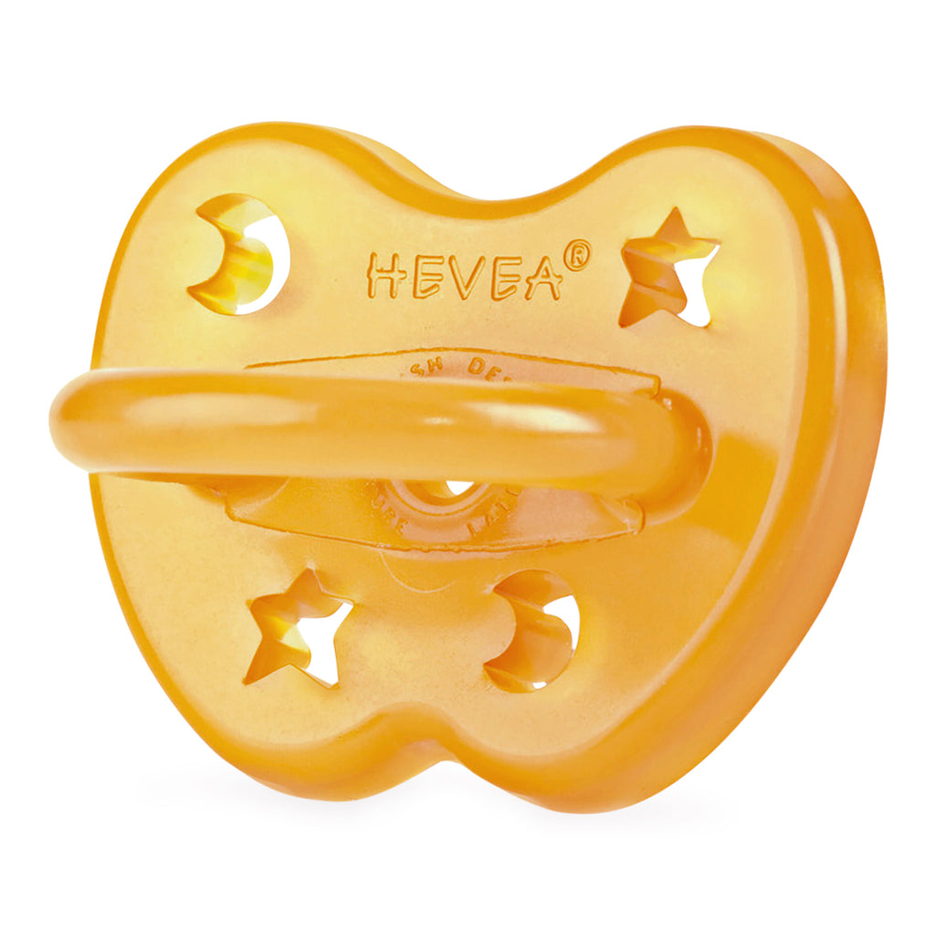 Hevea Pacifier, Orthodontic - Star & Moon