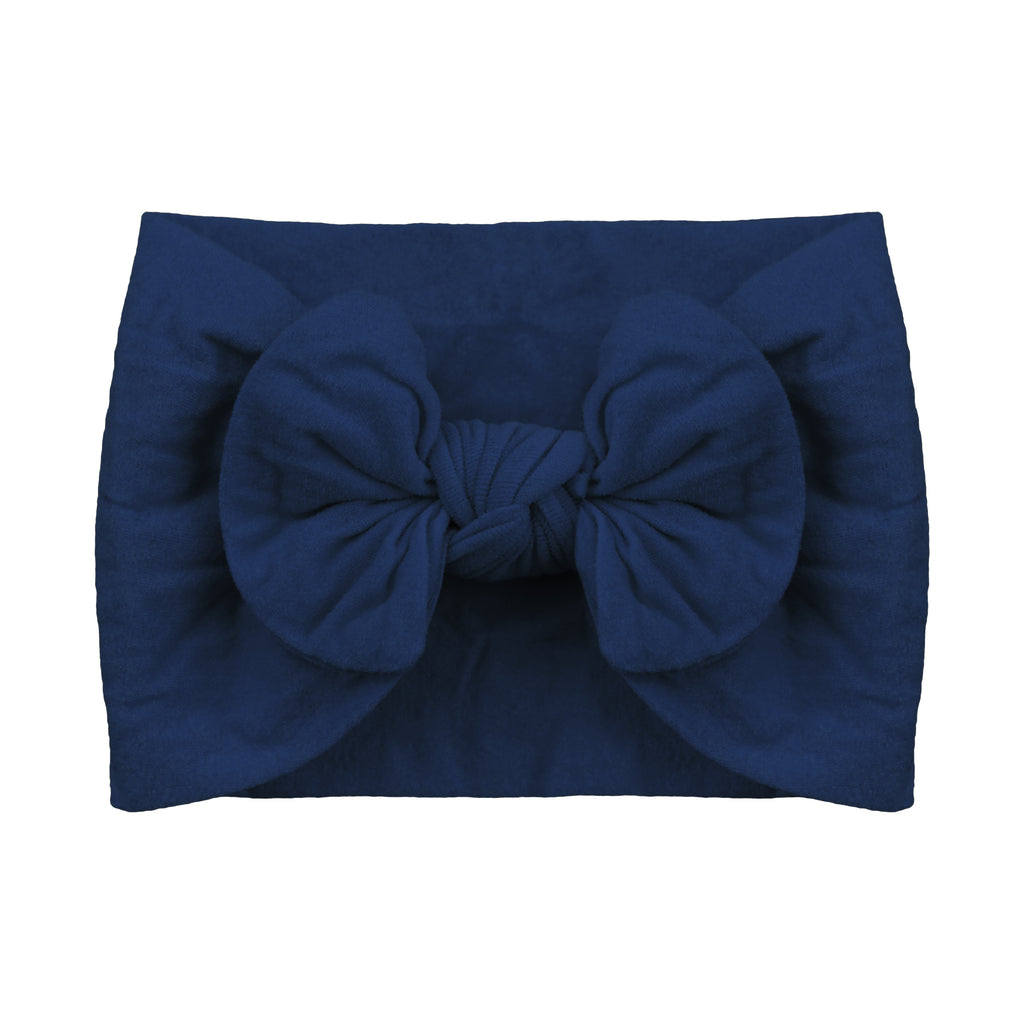 Nylon Headband, Navy