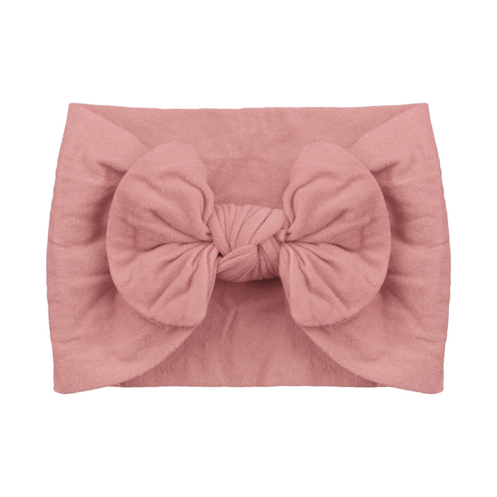 Nylon Headband, Blush