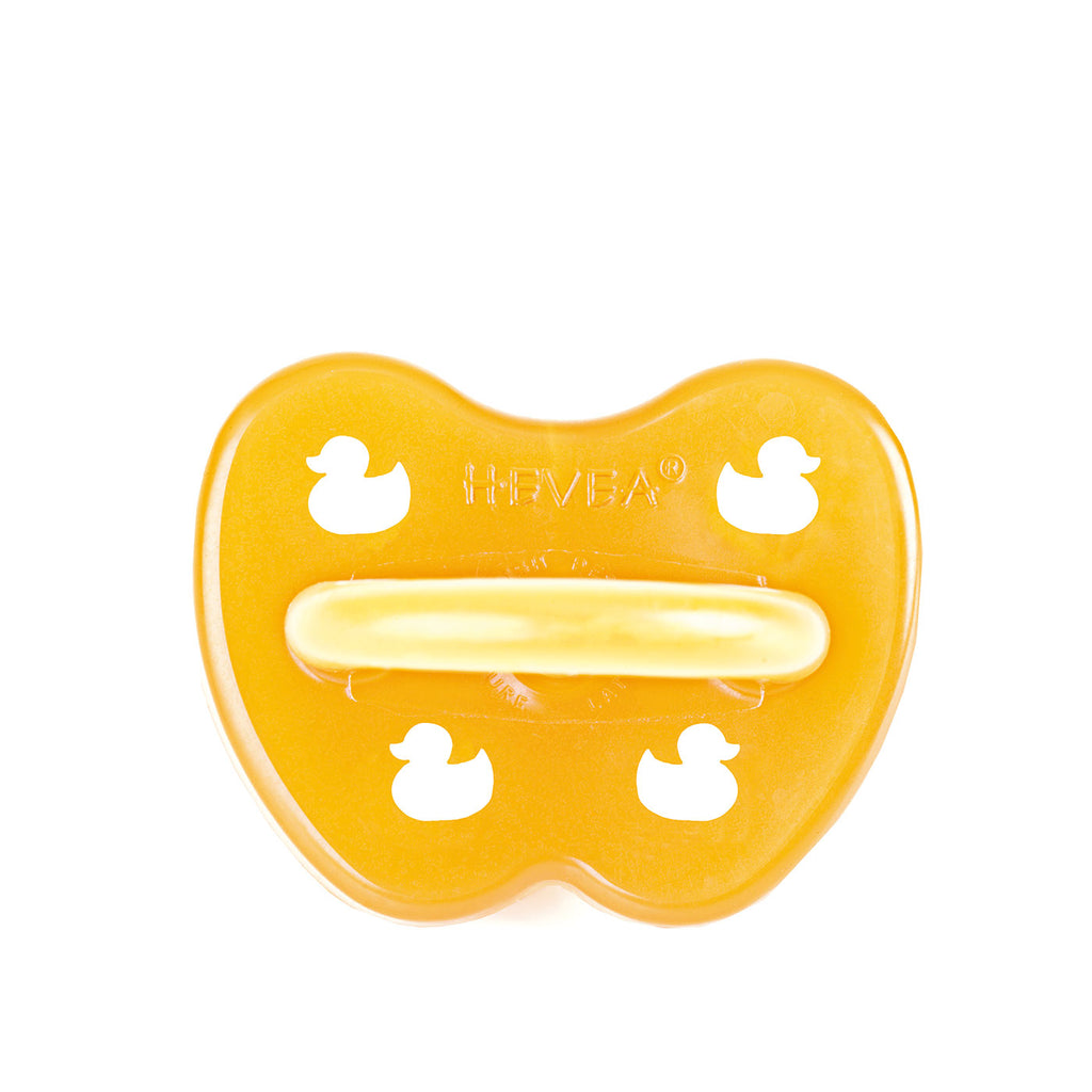 Hevea Symmetrical Duck Pacifier