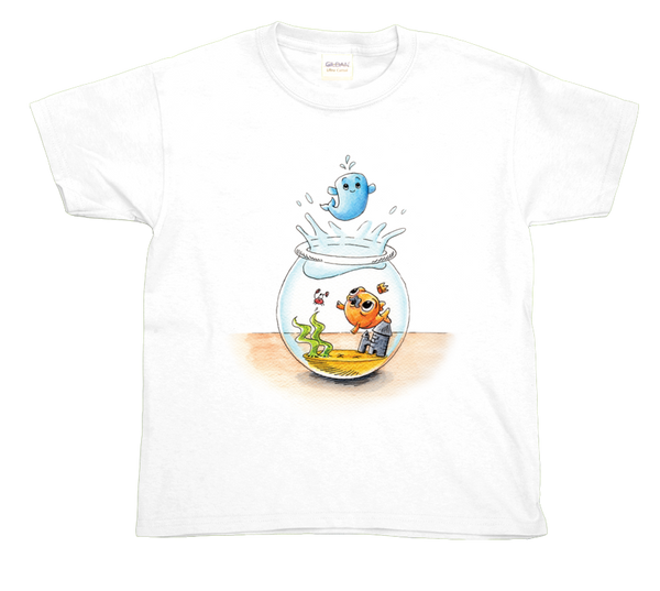 Children's t-shirt: Toot jumps!