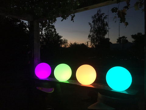 LED light spheres