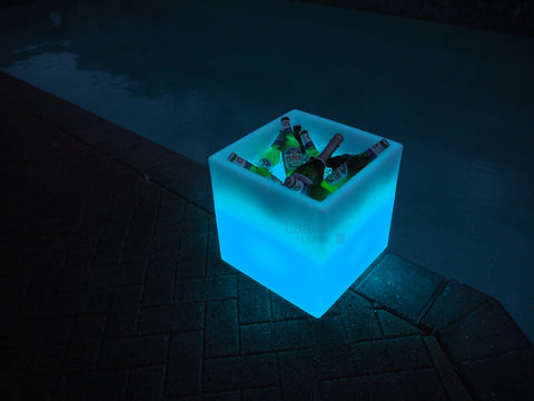 LED Light Ice Bin