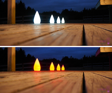 Tear Drop lights
