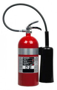 10lb Carbon Dioxide Fire Extinguisher