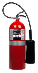 20lb Carbon Dioxide Fire Extinguisher