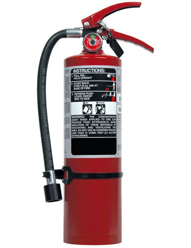 5lb Clean Agent Fire Extinguisher