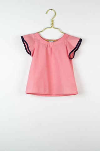 Clea Bluse in rosa